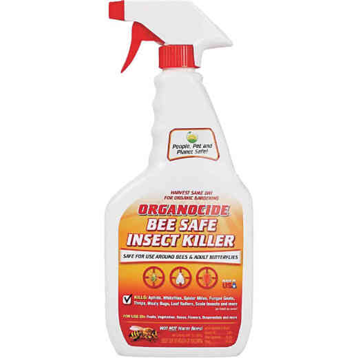 Organocide 24 Oz. Ready To Use Trigger Spray Organic Bee Safe Insect Killer