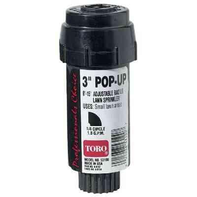 Toro 3 In. Quarter Circle Pop-Up Head Lawn Sprinkler