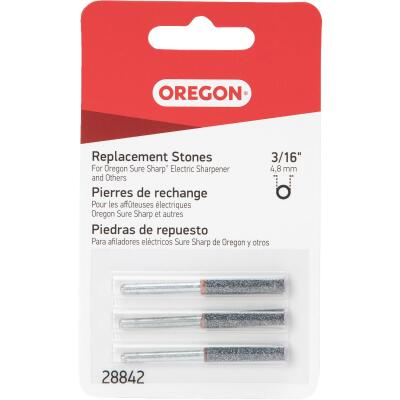 Oregon 3/16 In. Replacement Grinding Stones (3 Count)