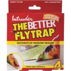 Intruder The Better Flytrap Disposable Indoor Fly Trap (4-Pack) Image 2