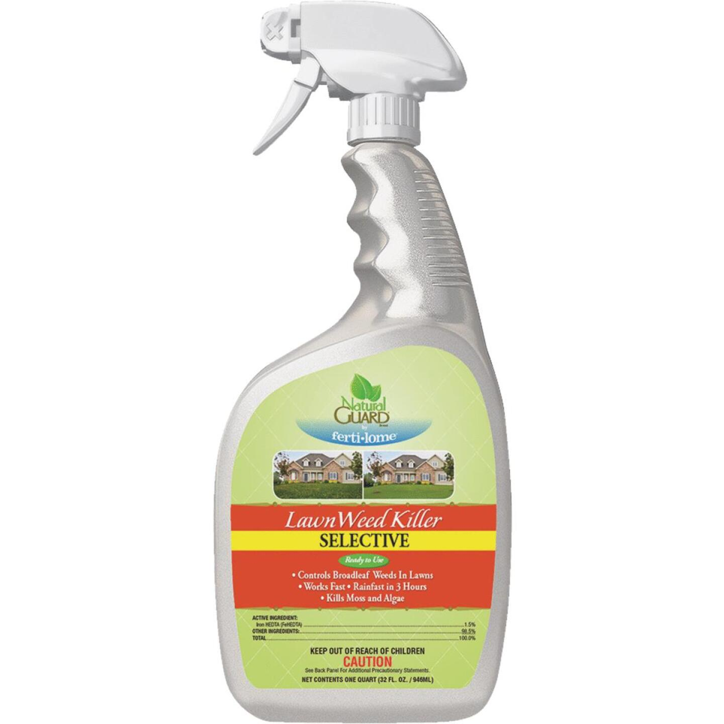 Natural Guard 1 Qt. Ready To Use Trigger Spray Weed Killer Image 1