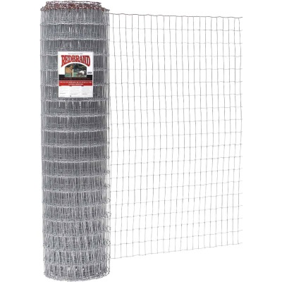 Keystone Red Brand 48 In. H. x 100 Ft. L. Galvanized Steel Class 1 Square Deal Non-Climb Horse Fence