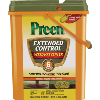 Preen Extended Control 13.75 Lb. Ready To Use Granules Weed Preventer