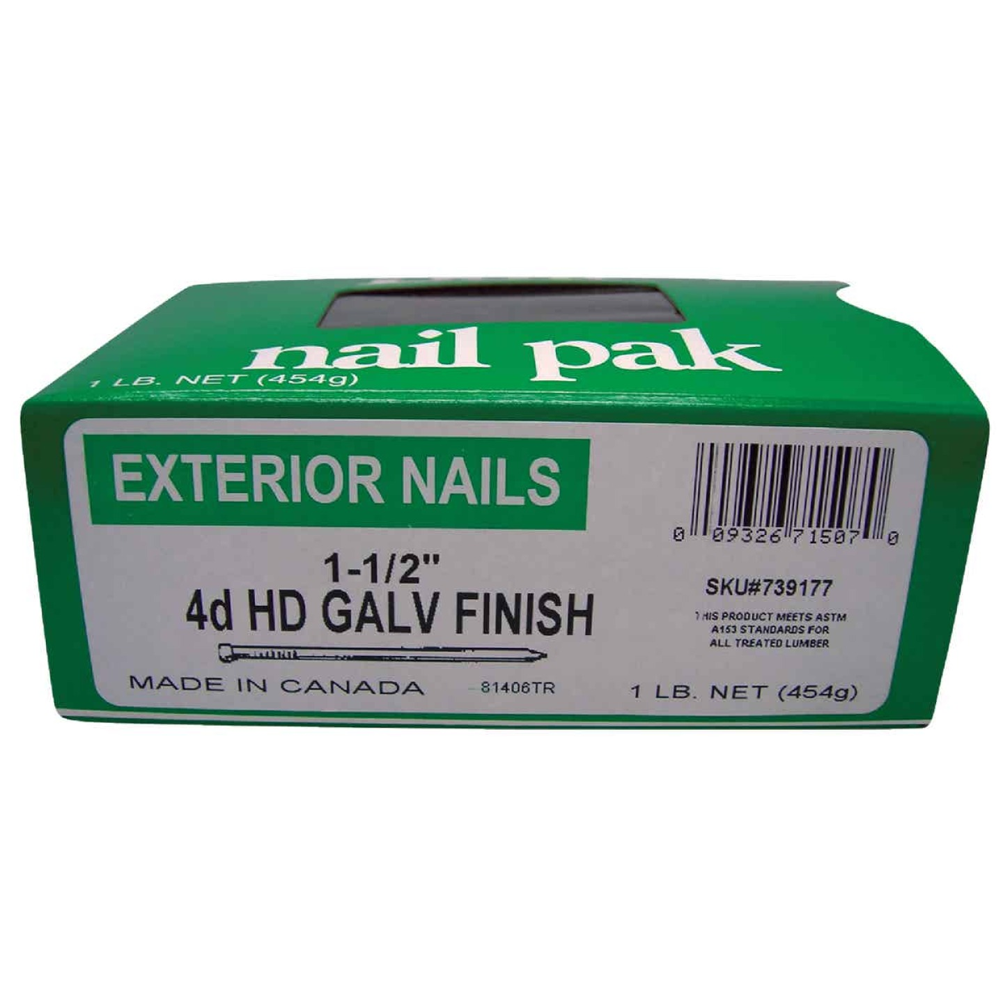 Do it 4d x 1-1/2 In. Hot Galvanized Finishing Nails (630 Ct., 1 Lb.)  Image 2