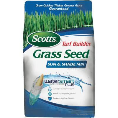 Scotts Turf Builder 3 Lb. Up To 1200 Sq. Ft. Coverage Sun & Shade Grass Seed