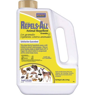 Bonide Repels All 3 Lb. Granular Animal Repellent