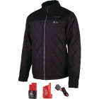 Milwaukee M12 Large Black Cordless Heated Axis Jacket Image 3