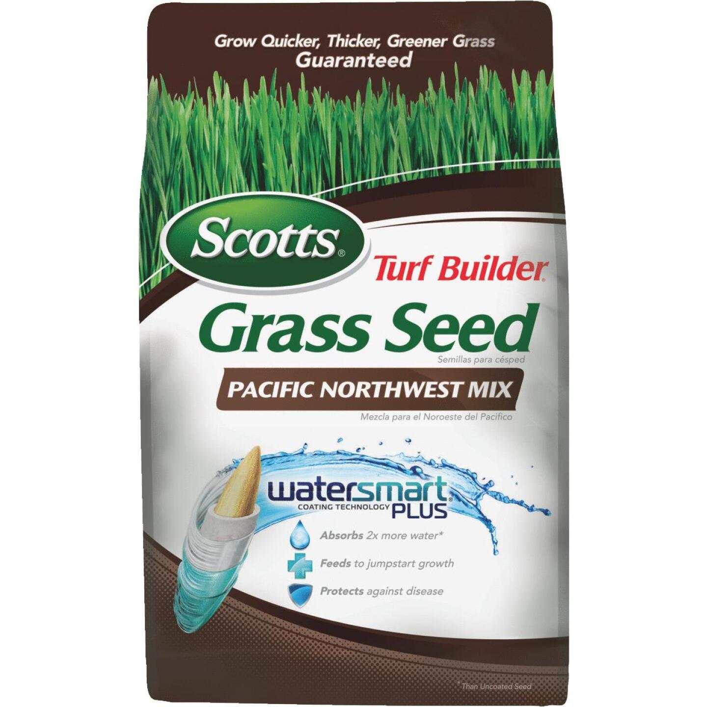 Scotts Turf Builder 3 Lb. Up To 1000 Sq. Ft. Coverage Pacific Northwest Grass Seed Image 1
