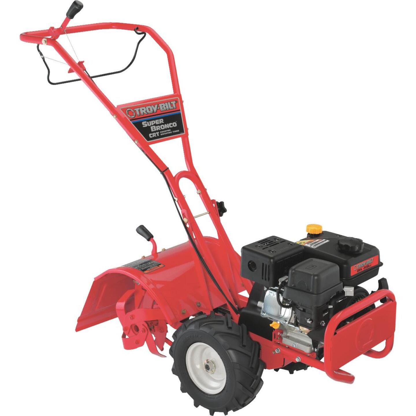 Troy-Bilt Super Bronco 16 In. 208cc Rear Tine Counter-Rotating Garden Tiller Image 1