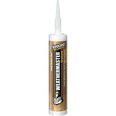 Titebond WeatherMaster 10 Oz. Polymer Sealant, 44701 Clay