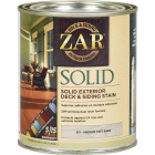 ZAR Solid Deck & Siding Stain, Medium Tint Base, 1 Qt. Image 1