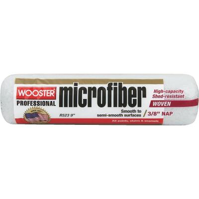 Wooster 9 In. x 3/8 In. Microfiber Roller Cover