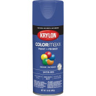 Krylon Colormaxx Satin Spray Paint & Primer, Iris Image 1