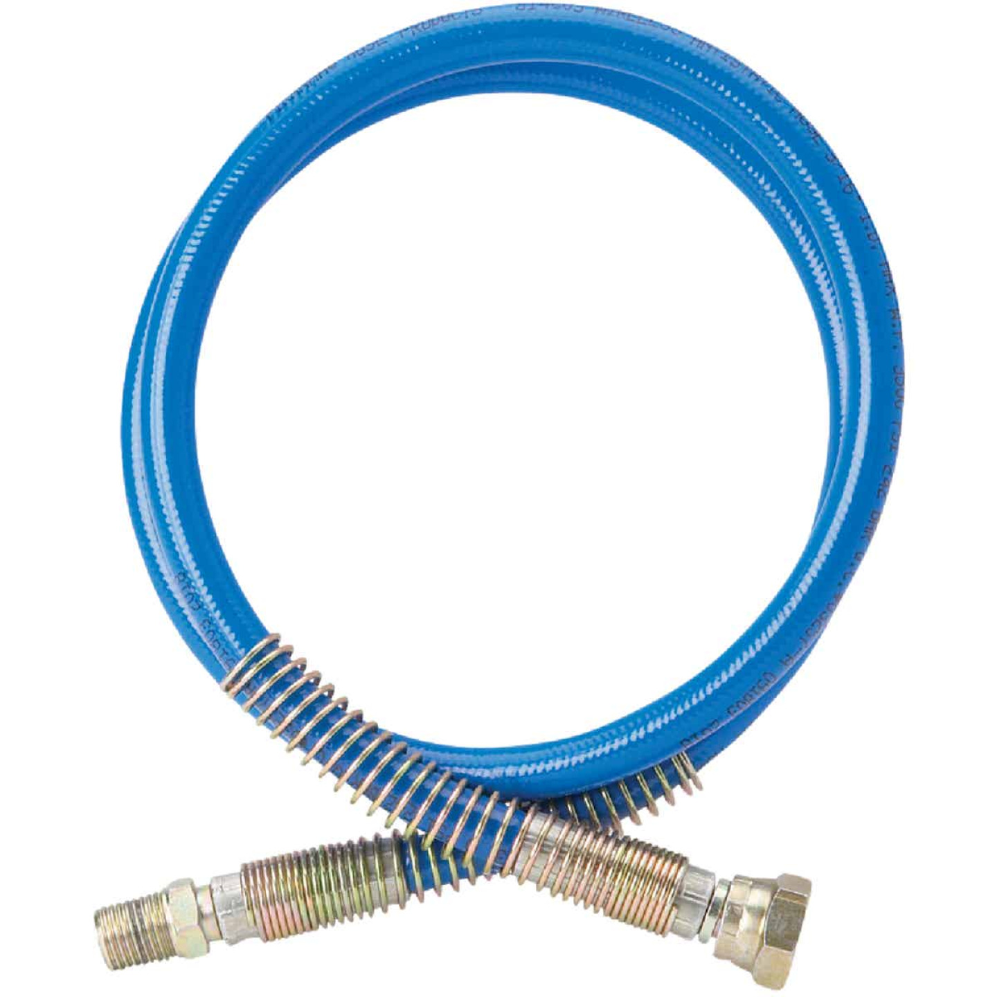 Graco Blue Max II 3/16 In. x 3 Ft. 3300 PSI Airless Whip Hose Image 1