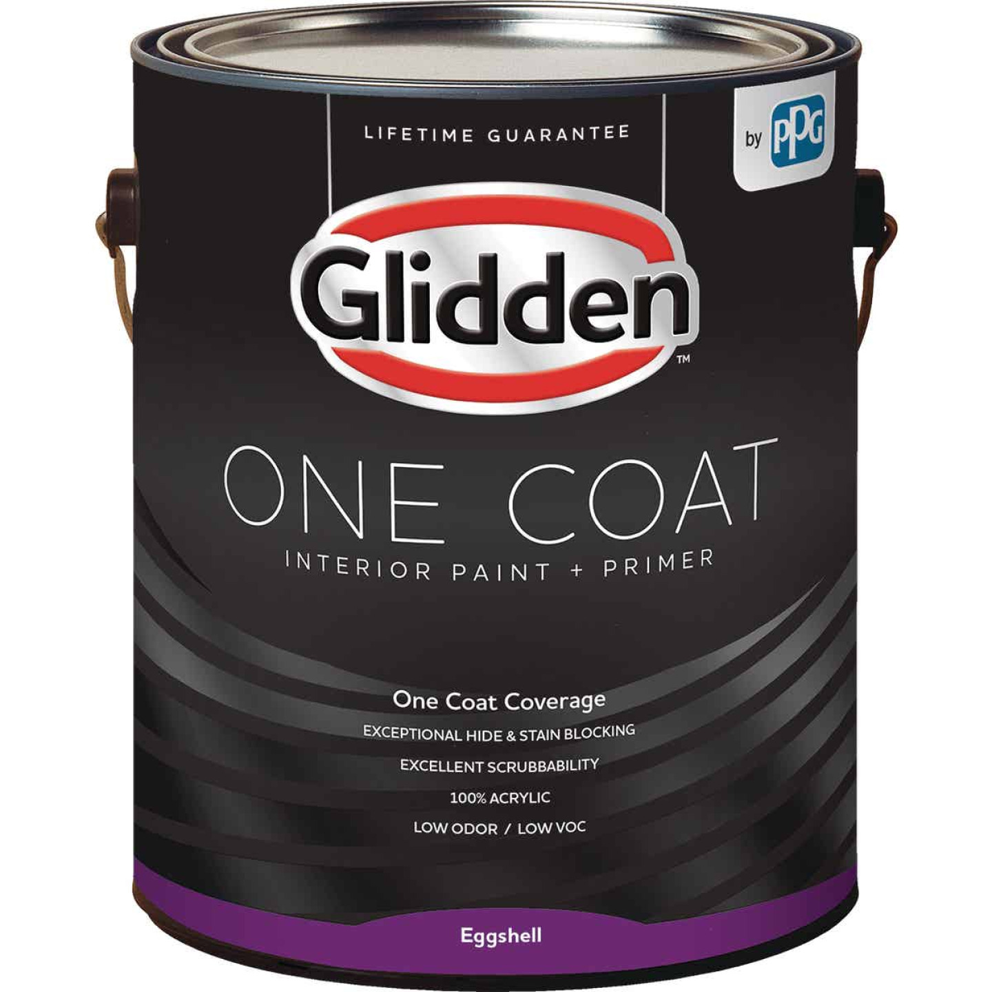 Glidden One Coat Interior Paint + Primer Eggshell Midtone Base 1 Gallon Image 1