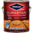 Wolman DuraStain One Coat Semi-Transparent Wood Exterior Stain, Neutral 1 Gal. Image 1