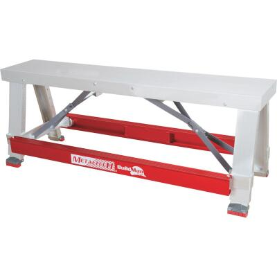 BuildMan Grade 18 In. X 30 In. Aluminum Drywall Workbench