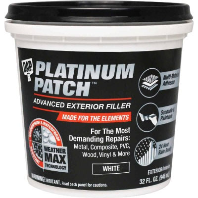Dap Platinum Patch 32 Oz. Advanced Interior/Exterior Spackling Filler