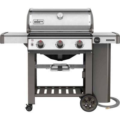 Weber Genesis II S-310 3-Burner Stainless Steel 37,500-BTU Natural Gas Grill