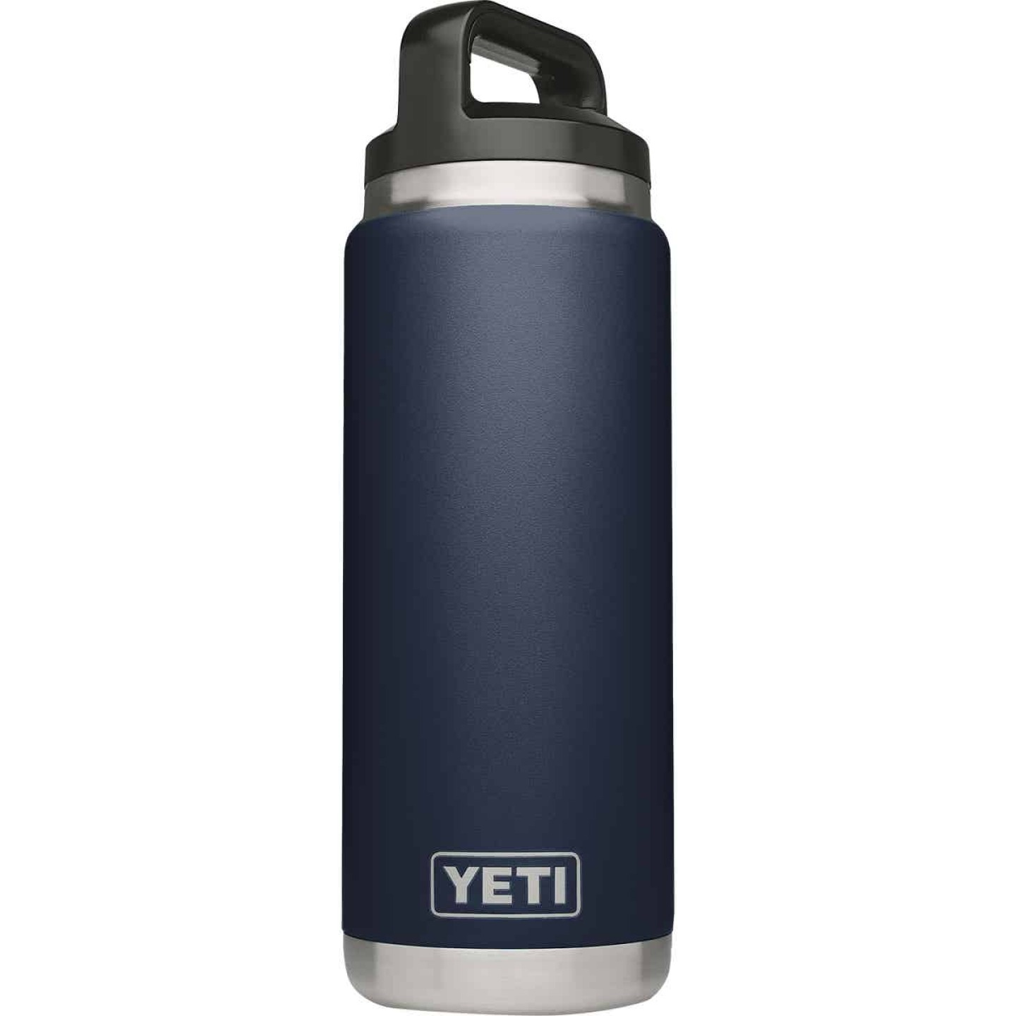 Yeti Rambler 26 Oz. Navy Blue Stainless Steel Insulated Vacuum Bottle Image 1