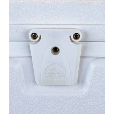 Igloo White Cooler Lid Latch Set