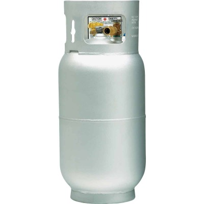 Manchester Tank and Equipment 33.5 Lb. Capacity Aluminum DOT Forklift LP Pre-Purged Propane Cylinder
