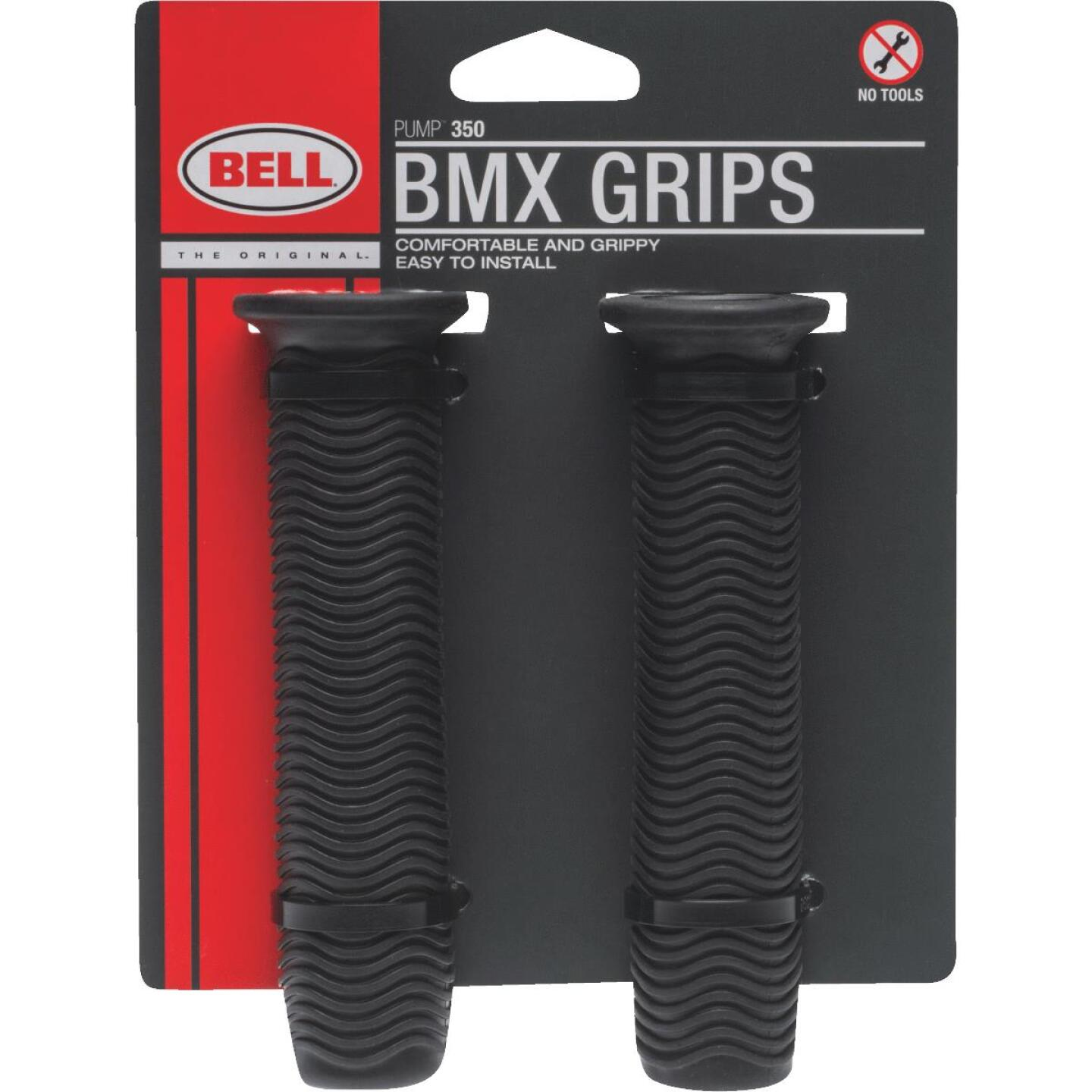 Bell Black Thermo Plastic Rubber BMX Handlebar Grip Image 1