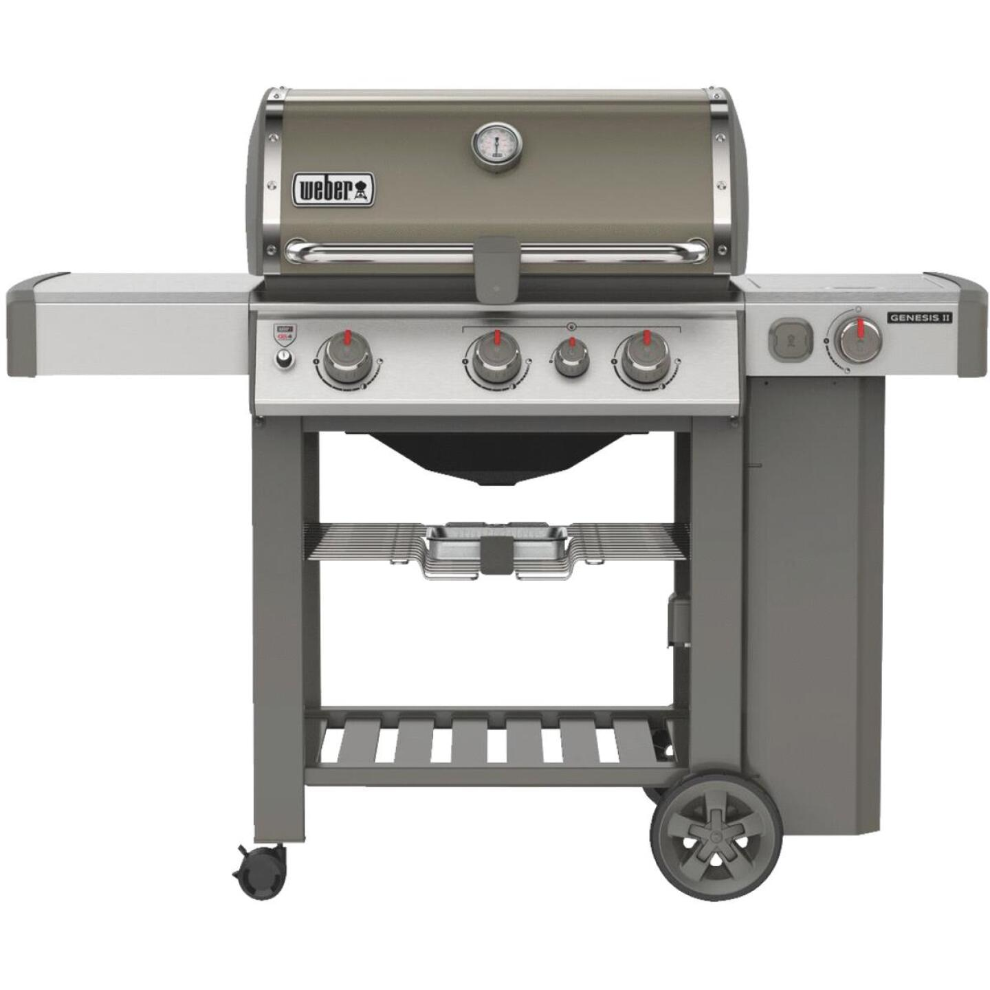 Weber Genesis II SE-330 3-Burner Smoke 39,000 BTU LP Gas Grill with 12,000 BTU Side -Burner Image 1