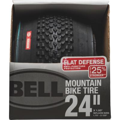 Bell 24 In. Mountain Bike Tire with Flat Defense