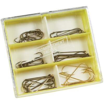 SouthBend 53-Piece Crappie & Panfish Hook Kit Assortment