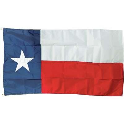 Valley Forge 3 Ft. x 5 Ft. Nylon Texas State Flag