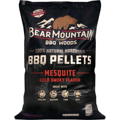 Bear Mountain BBQ Premium Woods 20 Lb. Mesquite Wood Pellet