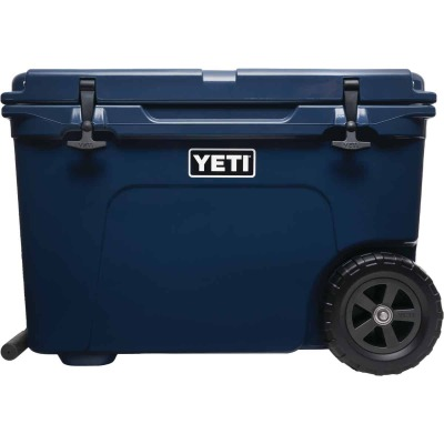 Yeti Tundra Haul 45-Can 2-Wheeled Cooler, Navy