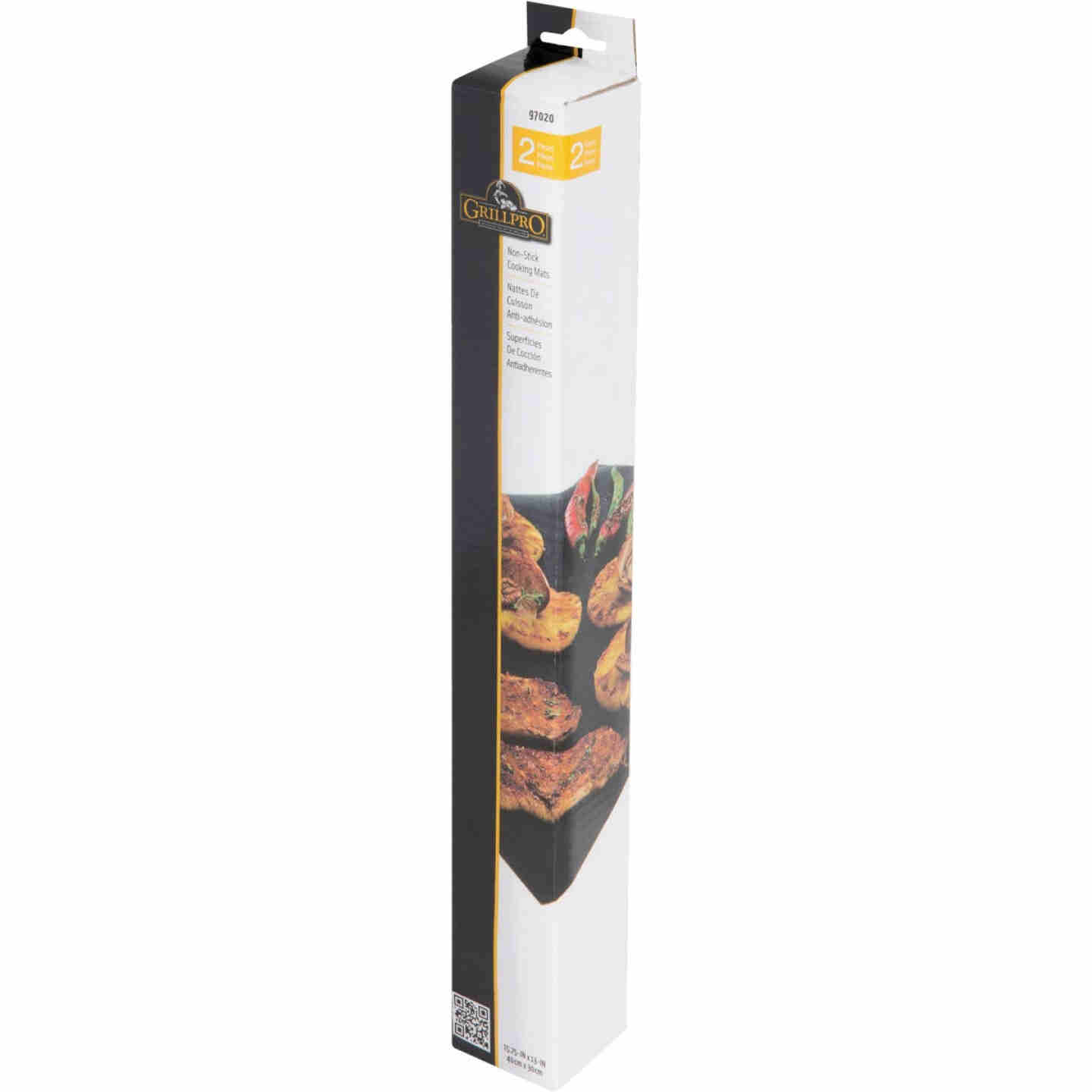 GrillPro 15.75 In. W. x 13 In. L. Non-Stick Cooking Mat (2-Pack) Image 3