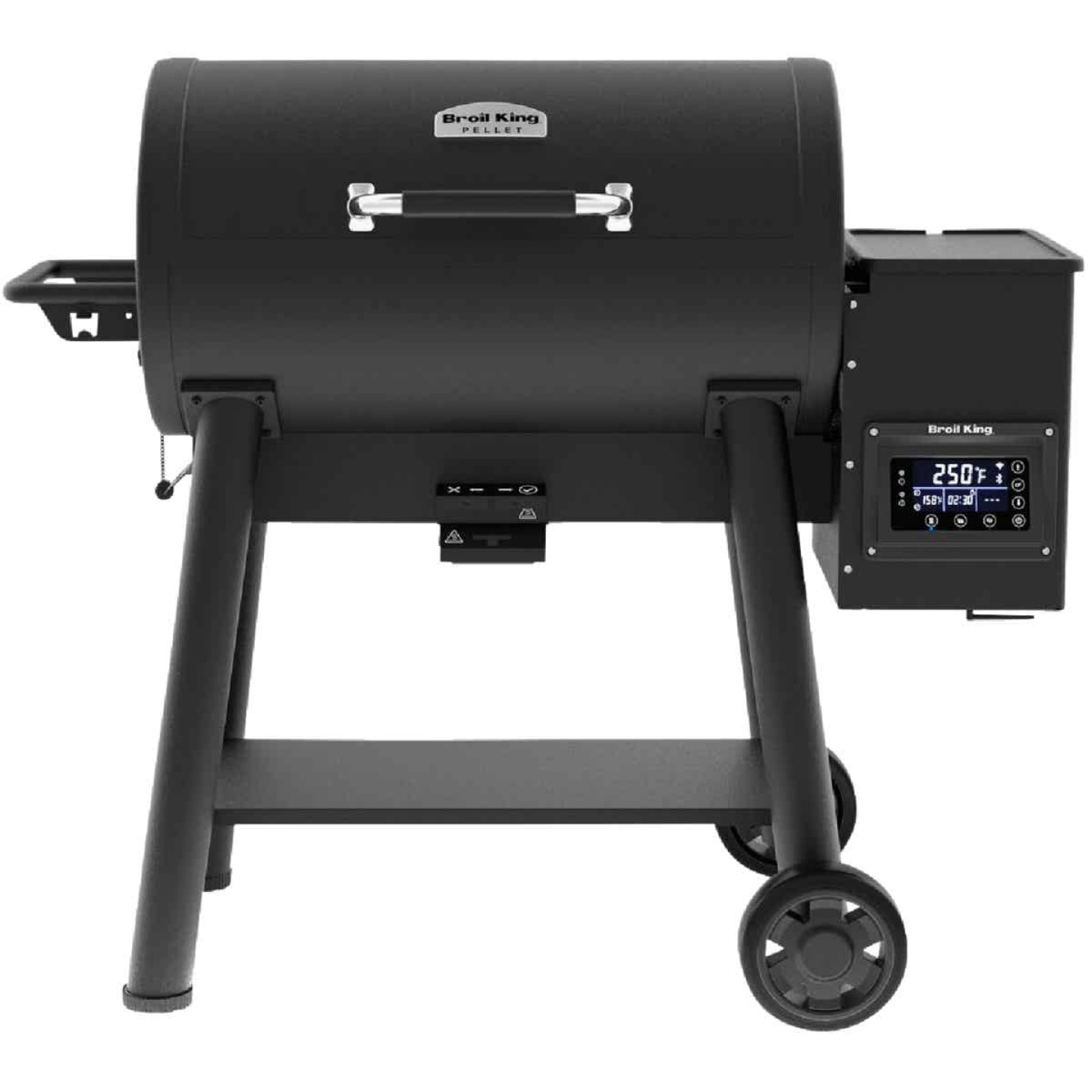 Broil King Baron Pellet 500 Black 800 Sq. In. Grill Image 1